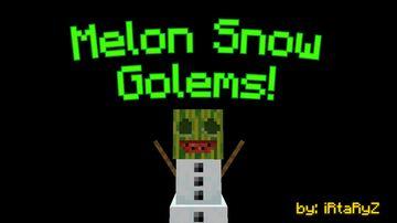 • Melon Snow Golems • [V1.1.0] Minecraft Data Pack