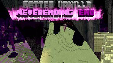 The Neverending End Sneak Peek (Luminous / Far End Compatible!) | Better Vanilla Part IV Version 4 (Even More Compatible than Before!) Minecraft Data Pack