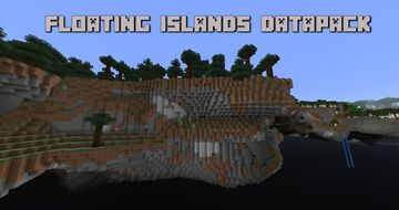 Floating Islands Datapack (Every biome) Minecraft Data Pack