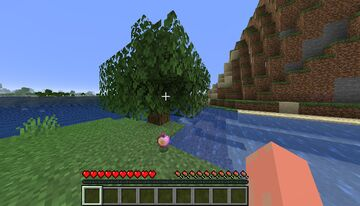 Tree Leaves drop Enchanted Golden Apple Minecraft Data Pack