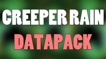 Creeper Rain Datapack Minecraft Data Pack