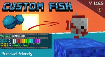 Custom Tropical Fish [1.16 - 1.16.5] Minecraft Data Pack