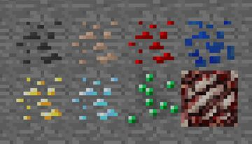 Ores Are Block Minecraft Data Pack