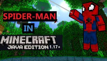 Spider-Man Datapack Minecraft 1.17+ (Remaster) Minecraft Data Pack