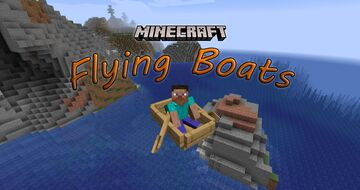 Flying Boats Minecraft Data Pack