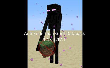 Anti Enderman Grief Datapack Minecraft Data Pack