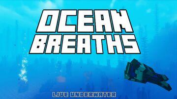 Ocean Breaths Minecraft Data Pack