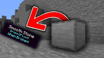 Minecraft But Smooth Stone Drops Op Loot Minecraft Data Pack
