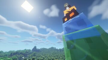 Crazy Tower Slime Minecraft Data Pack