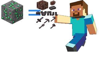 Minecraft but Emerald Ores and Emerald Blocks Drop OP LOOT Minecraft Data Pack