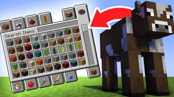 Mobs Drop Creative Mode Minecraft Data Pack