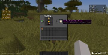 Craftable Enchanted Golden Apples Minecraft Data Pack
