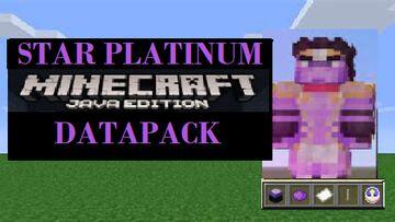 Star Platinum Datapack 1.16+/1.17+ Minecraft Data Pack