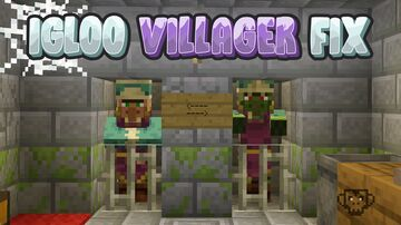 Igloo Villager Fix Minecraft Data Pack