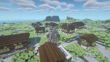 Mountain Villages (New Structure, no Replacements!) - Reissue Minecraft Data Pack