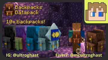 Working Backpacks (27 new slots) Minecraft Data Pack