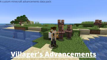 Villager's Advancements Minecraft Data Pack