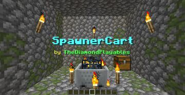 SpawnerCart: Move Spawners with Minecarts! [1.17x] Minecraft Data Pack
