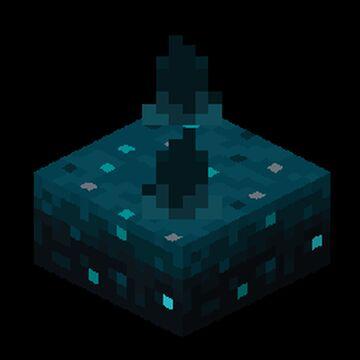 Natural Sculk Sensor Minecraft Data Pack