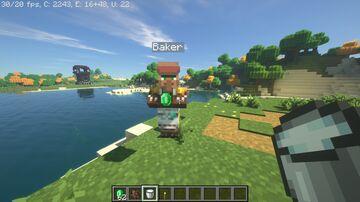 Baker Villager Minecraft Data Pack