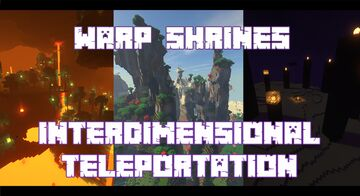 Warp Shrines - Interdimensional Teleportation Minecraft Data Pack