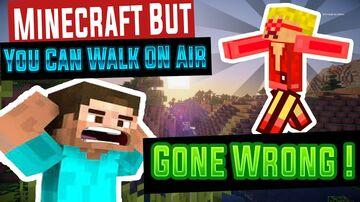 Walk in Air Minecraft Data Pack