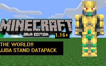 The World (Stand) Datapack 1.17+/1.16+ Minecraft Data Pack