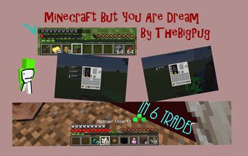 Minecraft But You Are Dream | event entery Minecraft Data Pack