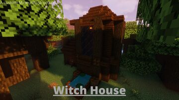 Witch House Data Pack Minecraft Data Pack