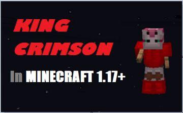 King Crimson Datapack 1.17+ Minecraft Data Pack