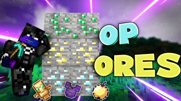 OP Ores Minecraft Data Pack