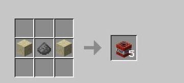 Easier TNT recipe Minecraft Data Pack