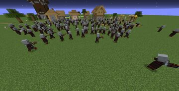Pillager Army Minecraft Data Pack