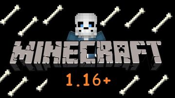 Sans in Minecraft 1.16 Minecraft Data Pack