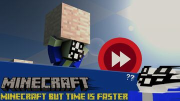 Official Download: Minecraft but time is faster (M.B.T.I.F for short) Multiplayer Compatible! Minecraft Data Pack