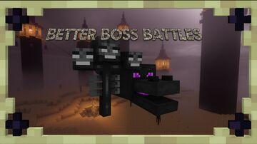 Better Boss Battles  (V. 0.9.2) Minecraft Data Pack