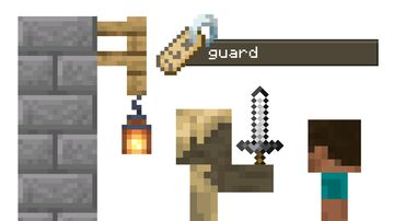 Stationed Guards Minecraft Data Pack