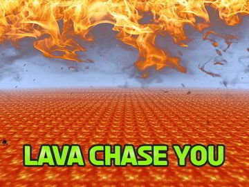 Minecraft but Lava Chase you! Minecraft Data Pack