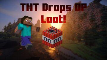 TNT Drops OP Loot! | 1.13 - 1.17 Minecraft Data Pack