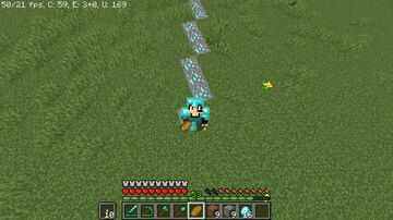 Minecraft, but you have diamond steps Minecraft Data Pack