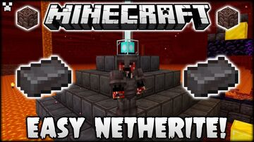 everything you step on changes to netherite block Minecraft Data Pack