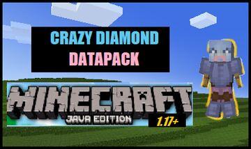 Crazy Diamond Datapack Minecraft 1.17+ Minecraft Data Pack