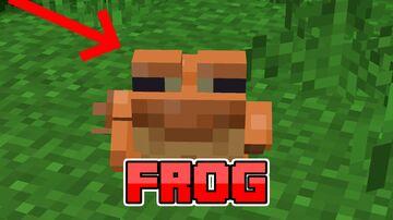 Frog Datapack Minecraft Data Pack