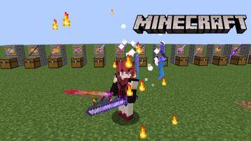13 Custom Swords Minecraft Data Pack