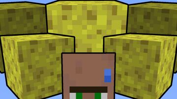 Villagers are scared of sponges Minecraft Data Pack