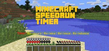 Speedrun Timer Minecraft Data Pack