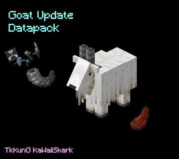 Goat Update Minecraft Data Pack