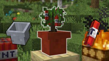 TNT tree datapack [1.0] Minecraft Data Pack