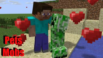Pets Mobs Minecraft Data Pack