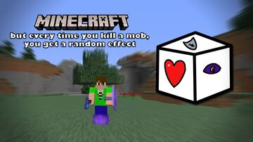 Random Effects on Mob Kills Minecraft Data Pack